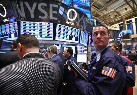 """Dow Jones: """"Đỉnh cao"""" 4 năm - 1"""