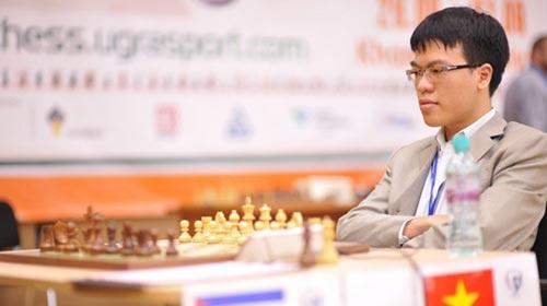 Lê Quang Liêm tiến thêm 4 hạng của FIDE - 1