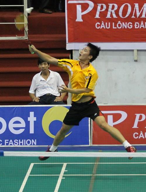 Malaysia mở rộng 2012: Hoàng Nam thua ngay vòng 1 - 1