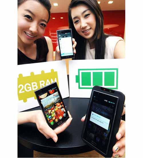 """LG Optimus LTE 2 """"đối thủ"""" của Galaxy S3 ? - 1"""