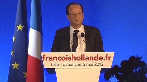 Ông Francois Hollande đắc cử Tổng thống Pháp - 1