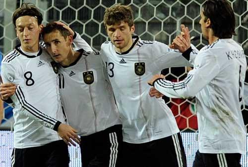 ĐT Đức lên danh sách sơ bộ dự Euro - 1