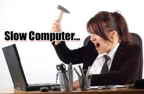 """Vì đâu máy tính biến thành """"rùa bò""""? - 1"""