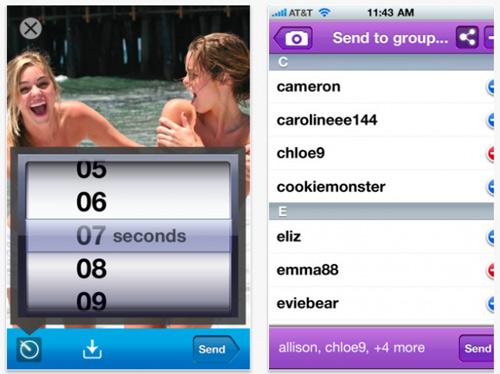 Ứng dụng tự hủy tin nhắn sex trên iPhone - 1