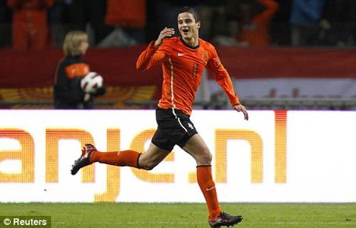 Hà Lan công bố danh sách sơ bộ dự Euro 2012 - 1