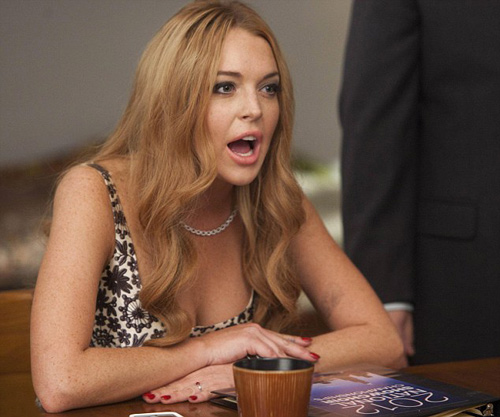 """Lindsay Lohan chưa hết """"bệnh"""" ngôi sao - 1"""