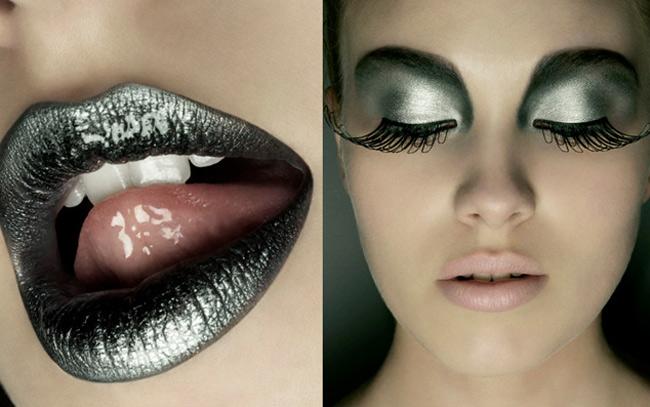 Cách tô môi thâm ấn tượng tông xuyệt tông với ánh mắt mang lại cho bạn sự huyền bí