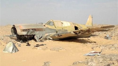 Gặp nạn 70 năm trước, máy bay vẫn nguyên vẹn - 1