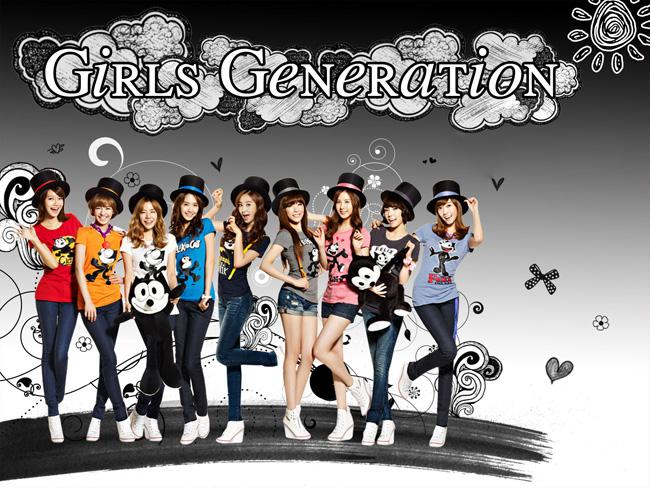 Về nhóm nhạc nữ, SNSD vẫn là nhóm nhạc nữ xinh đẹp nhất.