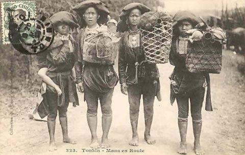 Sơn nữ Việt xưa mặc gì? - 1