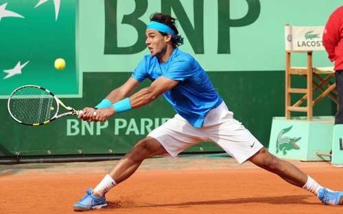 Phân nhánh Rome Masters: Nadal gặp thử thách - 1