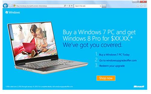 Nâng cấp Windows 7 lên Windows 8 - 1