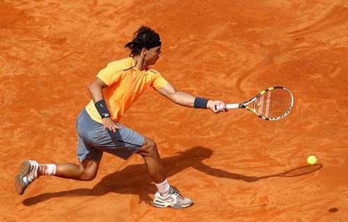 Nadal - Ferrer: Đẳng cấp (Video tennis, Bán kết Rome Masters) - 1