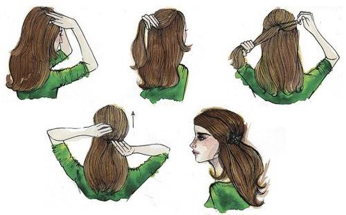 Biến hóa nhanh và ấn tượng với tóc - 1
