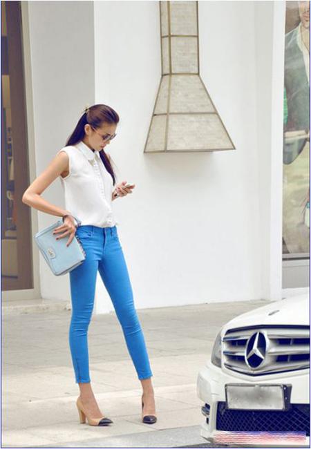 Mặc jeans đẹp như chân dài Việt - 1