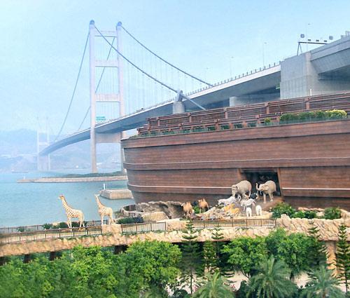 """""""Vườn cổ tích"""" có thật tại Hồng Kông - 1"""