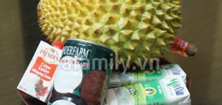Kem sầu riêng sữa dừa thơm lừng - 1