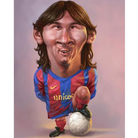 Đố vui: Messi đá phạt - 1