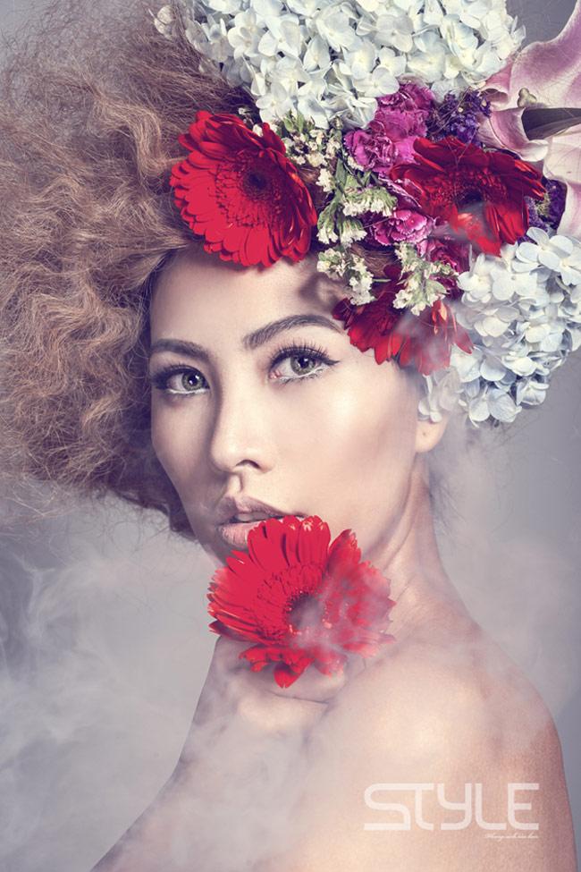 Thanh Hoài trong bộ ảnh thời trang mới