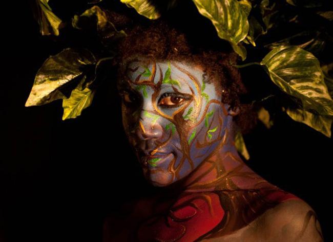 Festival body painting tại Úc đã thu hút hàng vạn người tham gia.