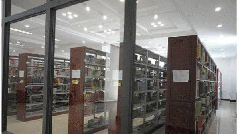 Thư viện ĐH sang trọng như Nhà Trắng - 1
