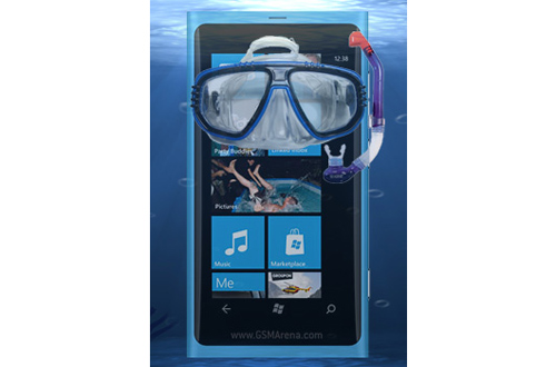 """Nokia Lumia và PureView """"nói không với nước"""" - 1"""