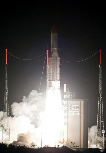 Vinasat-2 đã đi vào đúng quỹ đạo - 1
