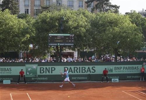 Roland Garros: Thưởng thức và kiếm tiền - 1