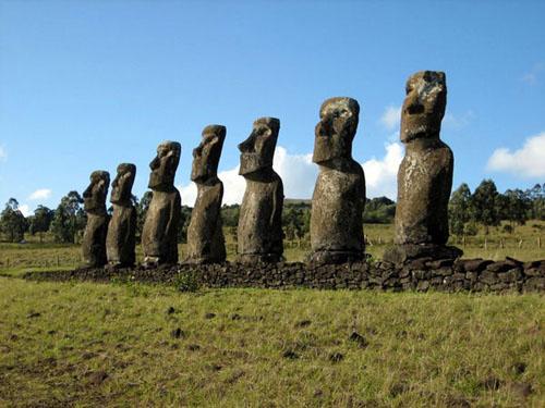 Bí ẩn về tượng trên đảo Phục Sinh - 1