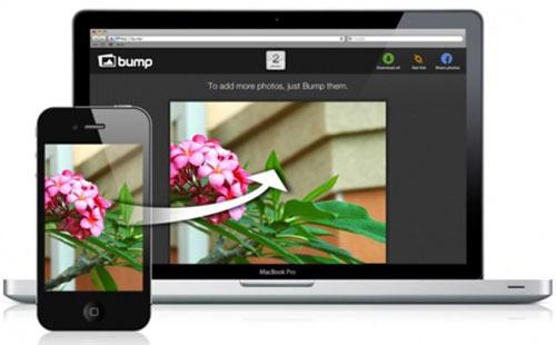 Bump - chia sẻ không dây dễ dàng giữa Smartphone và máy tính - 1
