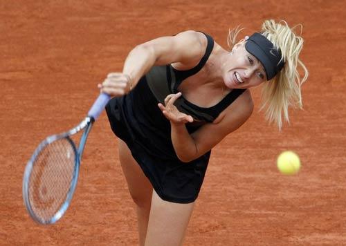 Sharapova - Morita: 2 set như 1  (Video tennis, vòng 2 Roland Garros) - 1