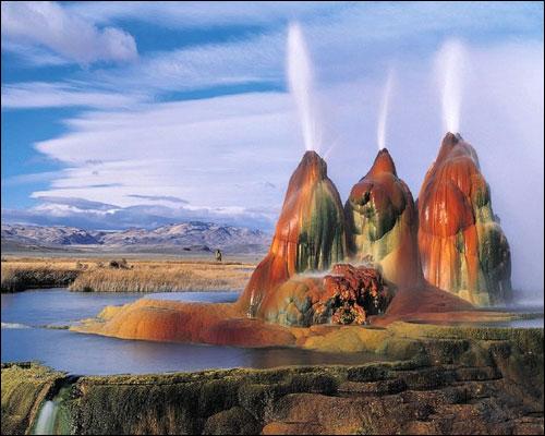 Mạch nước phun Fly Geyser: Sao Hỏa trên trái đất - 1