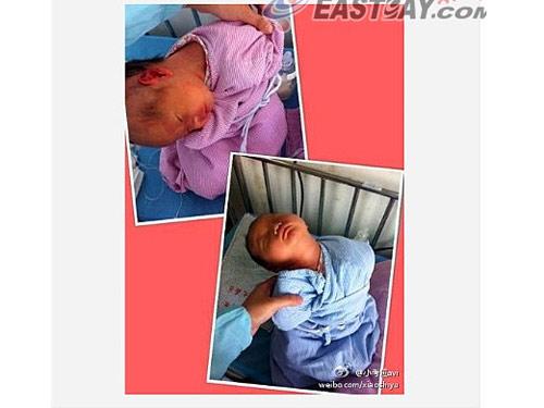 TQ: Y tá ngang nhiên bạo hành trẻ sơ sinh - 1