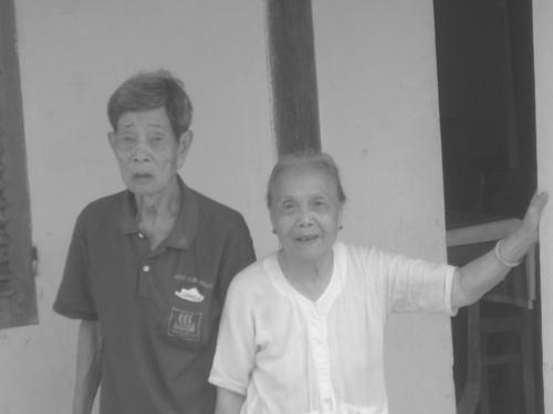 """Bến Tre: Hai cụ 91 tuổi đã """"thành đôi"""" - 1"""