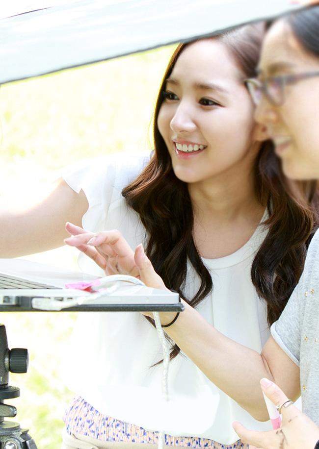 Nữ diễn viên Park Min Young
