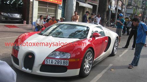 """""""Quái vật"""" Bugatti Veyron đi """"tắm nắng"""" Sài Thành - 1"""