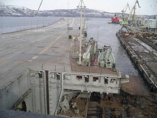Hàng không mẫu hạm duy nhất của quân đội Nga - 1