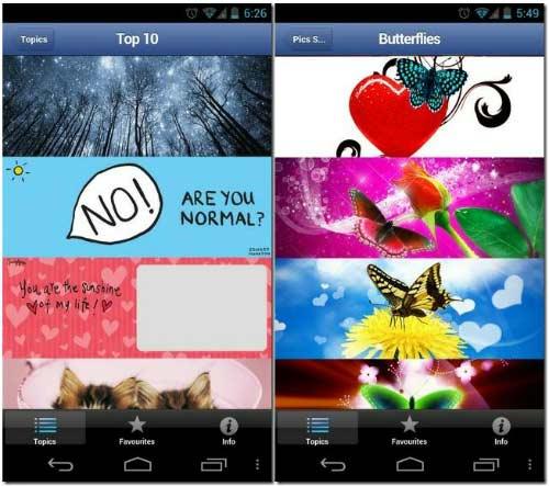 Hướng dẫn tìm và tải ảnh Cover cho Facebook từ thiết bị di động - 1