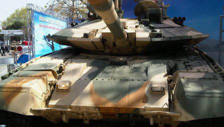 "Nga ""khoe"" xe tăng chủ lực T-90S - 1"