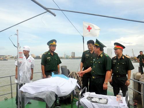 Đà Nẵng: Diễn tập cứu nạn trên biển - 1