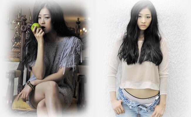 Trong phim, hình thể tuyệt đẹp của Bae Noo Ri thường bị che giấu sau lớp áo. Nhưng trong bộ ảnh này, cô khiến mọi người ngỡ ngàng vì vẻ đẹp sexy.