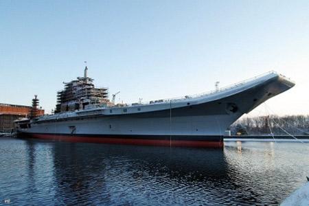 Ấn Độ chính thức chạy thử tàu sân bay - 1