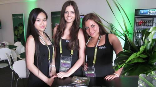 Euro 2012: Người mẫu Việt ở vipzone - 1