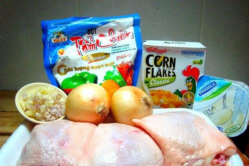 Nuốt nước miếng với món gà rán giòn ngon - 1