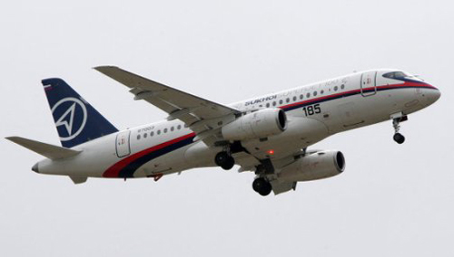 Nga mô phỏng vụ tai nạn máy bay Sukhoi - 1