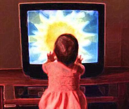 """Cách """"cai nghiện"""" tivi ở trẻ nhỏ - 1"""