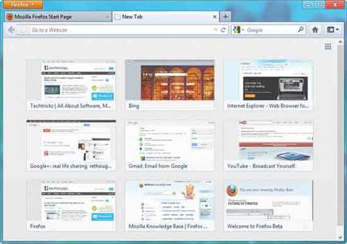 Top 6 tính năng bạn nên thử ở Firefox 13 ! - 1