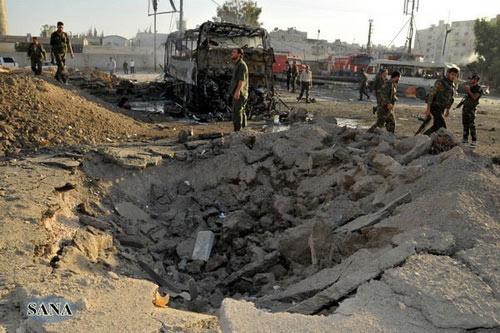 Syria: Đánh bom và đụng độ, 52 người chết - 1