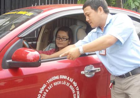 Thay giáo trình đào tạo lái xe từ tháng 6 - 1