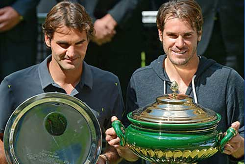 Federer - Haas: Kịch tính (Video tennis, CK Gerry Weber Open) - 1